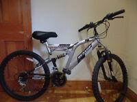"""Dunlop Mountain Bike 24"""" - Dual Suspension - Excellent Condition"""