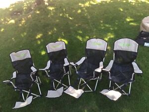 Roots Children's Camping Chairs - With Removable Foot Rests