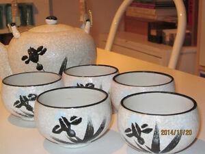 Service à thé japonnais de  7 pièces