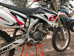 2008 Yamaha YZ250F Fresh maintenance rebuild