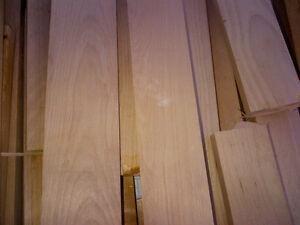 Assorted maple hardwood lengths