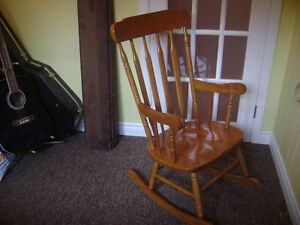 Maple Rocking Chair - Excellent Condition