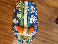 Baby surf board tummy time mat