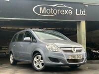 2010 Vauxhall Zafira 1.6 i 16v Exclusiv 5dr MPV Petrol Manual