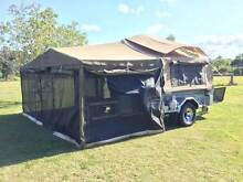 CUSTOMLINE DELUXE OFF ROAD 4x4 CAMPER TRAILER GALVANISED Beerwah Caloundra Area Preview