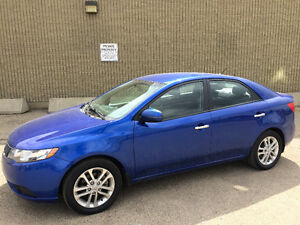 2011 KIA FORTE EX, 98000kms, 7 MONTH WARRANTY, VERY CLEAN!