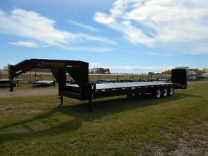 New 2016 30'(25+5') Rainbow Gooseneck Trailer GVWR 21,000 lbs