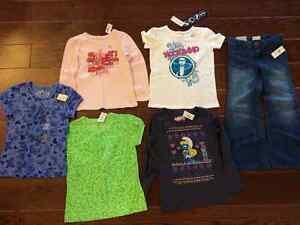 5t clothes - new