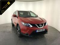 2015 NISSAN QASHQAI N-TEC + DCI DIESEL 1 OWNER SERVICE HISTORY FINANCE PX
