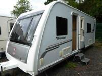 Elddis Crusader Shamal 2012 4 Berth Fixed Single Twin Beds Touring Caravan