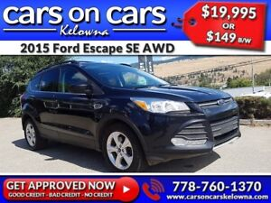 2015 Ford Escape SE AWD w/EcoBoost, Leather, PanoRoof, Navi $149