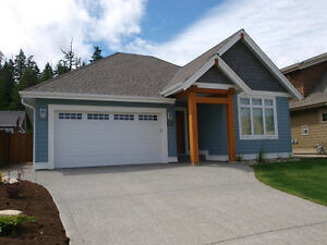Qualicum Beach Furnished New Custon Bungalow Home for Rent