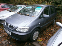 Vauxhall/Opel Zafira 1.6i 16v 2005.5MY Life 7 SEATER 89K ** GREAT VALUE **