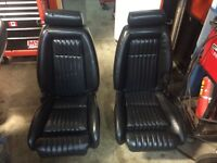 """Mustang black leather """"rare""""!!"""