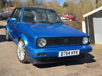 1987 GOLF GTI CABRIOLET CLASSIC MODIFIED