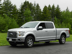 "2015 Ford F-150 Super Crew XTR 5 Ltr With A 6'6"" Box"