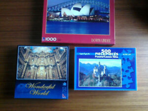 JIGSAW PUZZLES ---- NEW