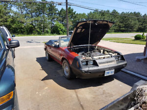 LAST CHANCE..1986 mustang convertible swap/trade or $5000.00