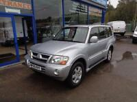 2005 MITSUBISHI SHOGUN ELEGANCE LWB DI-D - FULL LEATHER - 7 SEATER - NO VAT ESTA