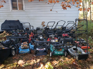 mowers and parts