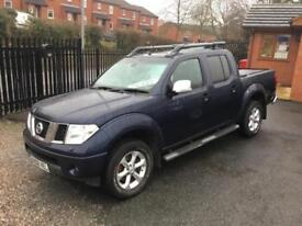Nissan Navara 2.5dCi Aventura blue manual no vat