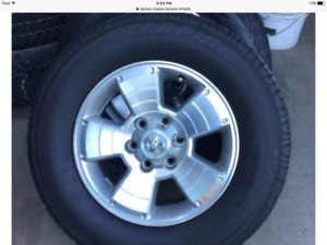 2012 tacoma rims and tires 17 inch