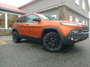 2016 Jeep Cherokee Trailhawk $119/week