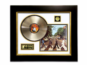 LIMITED EDITION GOLD LP 'THE BEATLES ABBEY ROAD SIGNATURE SERIES