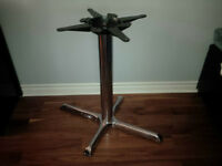 "28"" High Stainless Steel Table Base"
