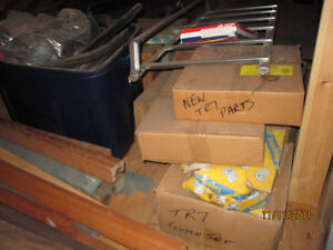 Triumph TR7 parts.  New and used. Windsor Region Ontario image 2