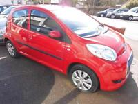 2009 CITROEN CI PETROL MANUAL 3 DOOR HATCH IN RED