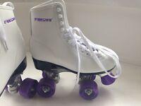 Free sport quad roller skates and bag