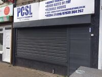 Shop/office to let Tonge moor Bolton. 3 rooms and excellent condition. Ready to move -Elec shutters