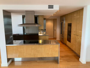 High End Kitchen Cabinets (Birdseye Maple) and Appliances