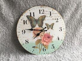 Shabby Chic style clock