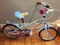 "Girls 16"" Cherry Lane Apollo bike"