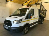 2017 Ford Transit 350 130PS UTILITY CAB CAGED TIPPER