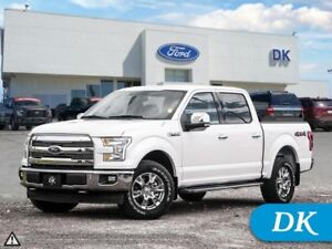 2017 Ford F-150 Lariat 501A w/Leather, Navigation, Chrome Pkg