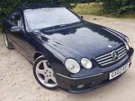 "Mercedes-Benz CL55 AMG 5.4 auto 2002 Genuine AMG bodykit, 19"" AMG alloys, Push B"