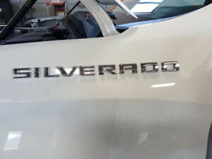 Chevy Silverado Left & Right door name plate