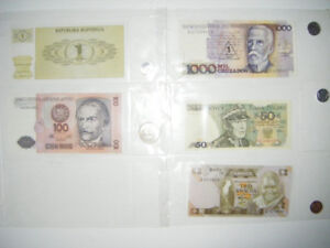 Foreign Notes and coins Truro