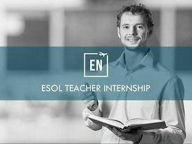 INTERNSHIP - ESOL teacher needed - experience not necessary