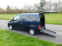 2011 61 Nissan NV200 Combi 1.5 Dci WHEELCHAIR ACCESSIBLE DISABLED VEHICLE WAV