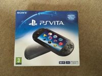 SONY PS VITA SLIM BLACK NEW VERSION