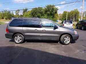 2005 ford freestar leather dvd COLD A/C  certified etested