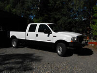 2003 Ford f350 4x4 pick up