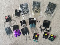 27pairs of new earrings