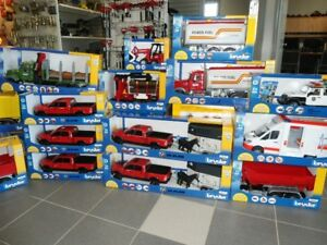 BRUDER TOYS +140 IN STOCK