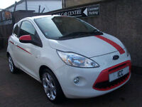 10 10 REG FORD KA 1.2 GRAND PRIX 3DR SPECIAL EDN £30 ROADTAX SPORTS BODYKIT A/C