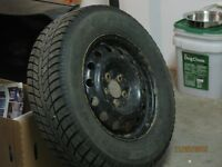 Buick winter tires and rim